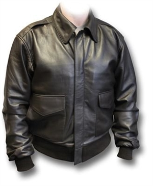 ASAF A2 Leather Jacket - Black