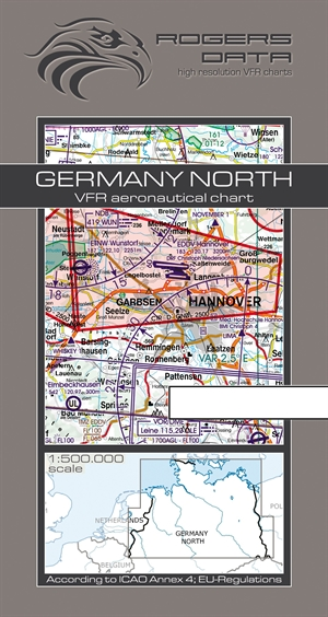 Rogers Data - Germany North VFR Chart