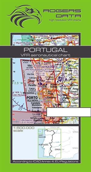Rogers Data - Portugal VFR Chart