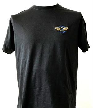 "T-Shirt ""Flying is Living"""