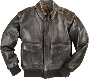 ASAF A2 Leather Jacket - Brown